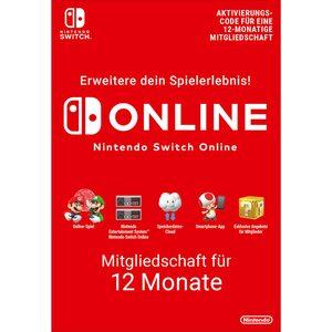 Nintendo Switch Online (Einzelmitgliedschaft - 12 Monate)