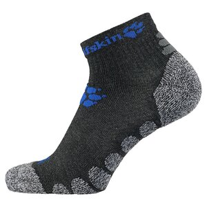 Jack Wolfskin Hiking Pro Low Cut Kids Kinder Socken 31-33 grau dark grey