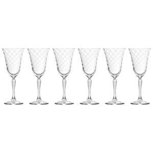 Leonardo Rotweinglas-set 6-teilig , 020765 , Klar , Glas , 280 ml , 0.28 cm , 003813043702