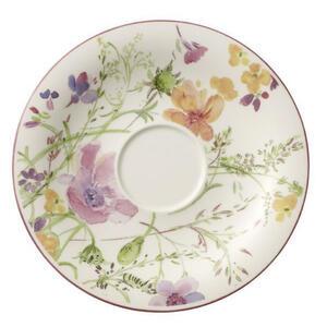 Villeroy & Boch Untertasse , 1041001310 , Weiß , Keramik , Floral , 0034070367