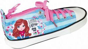 Schlampermäppchen Schuh glow lab Kids Little Lady hellblau Mädchen Kinder