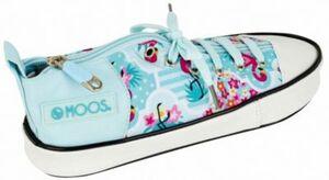 Schlampermäppchen Schuh MOOS Flamingo Turquoise türkis Mädchen Kinder