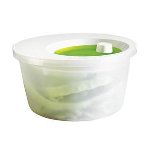 Emsa Salatschleuder 4 l , 505087 , Grün, Weiß , Kunststoff , wasserdicht , 0032620442