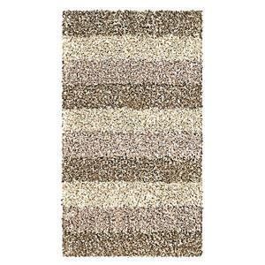 Kleine Wolke BADTEPPICH Taupe 60/100 cm , Lounge 4000 271 360 , Textil , Streifen , 60x100 cm , für Fußbodenheizung geeignet, rutschhemmend , 003342104504