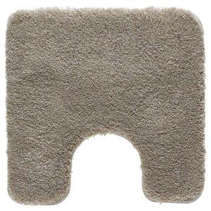 Kleine Wolke WC-VORLEGER Taupe 55/55 cm , Relax 5405 271 129 , Textil , Uni , 55x55 cm , für Fußbodenheizung geeignet, rutschhemmend , 003342094130
