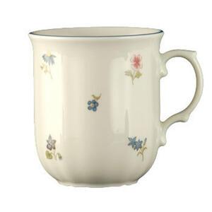 Seltmann Weiden Kaffeebecher , 30308 , Creme , Keramik , Blume , 250 ml , glänzend , 0031230333