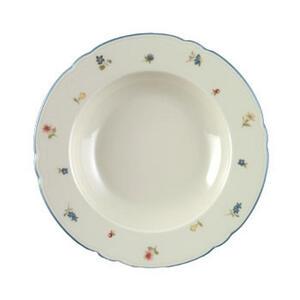 Seltmann Weiden Suppenteller porzellan , 30308 , Creme , Keramik , Blume , glänzend , 0031230315