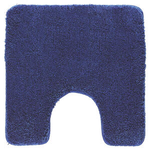 Kleine Wolke WC-VORLEGER Dunkelblau 55/55 cm , Relax 5405 736 129 , Textil , Uni , 55x55 cm , für Fußbodenheizung geeignet, rutschhemmend , 003342094111