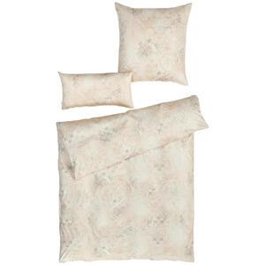 Estella Bettwäsche satin sandfarben , 2054034 Svizzera , Textil , Ornament , 155x220 cm , Satin , atmungsaktiv, bügelleicht , 004142237002