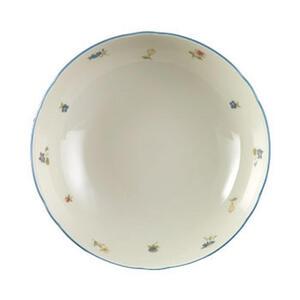 Seltmann Weiden Schüssel keramik porzellan , 30308 , Creme , Blume , bedruckt , 0031230687