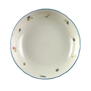 Seltmann Weiden Salatschüssel porzellan keramik , 30308 , Creme , Blume , bedruckt , 0031231242