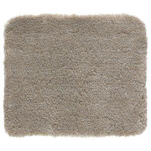 Kleine Wolke BADTEPPICH Taupe 55/65 cm , Relax 5405 271 539 , Textil , 55x65 cm , rutschhemmend , 003342103430