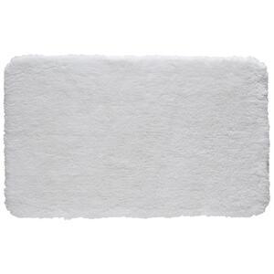 Kleine Wolke BADTEPPICH Weiß 60/100 cm , Relax 5405 115 360 , Textil , Uni , 60x100 cm , für Fußbodenheizung geeignet, rutschhemmend , 003342113632