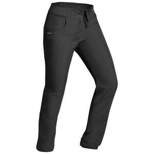 Wanderhose Winterwandern SH100 Ultra-Warm wasserabweisend Damen schwarz