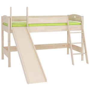 Paidi Spielbett birke massiv 90/200 cm birkefarben , Fleximo , Holz , 90x200 cm , lackiert,Echtholz , 000345011710