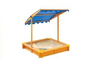PLAYTIVE® Sandkasten mit Dach und Eisdiele