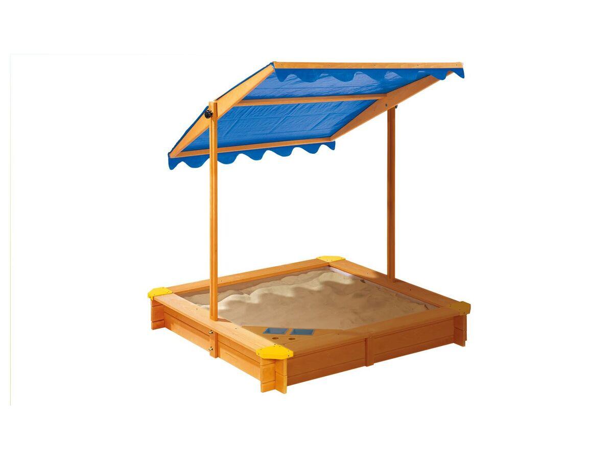Bild 2 von PLAYTIVE® Sandkasten mit Dach und Eisdiele