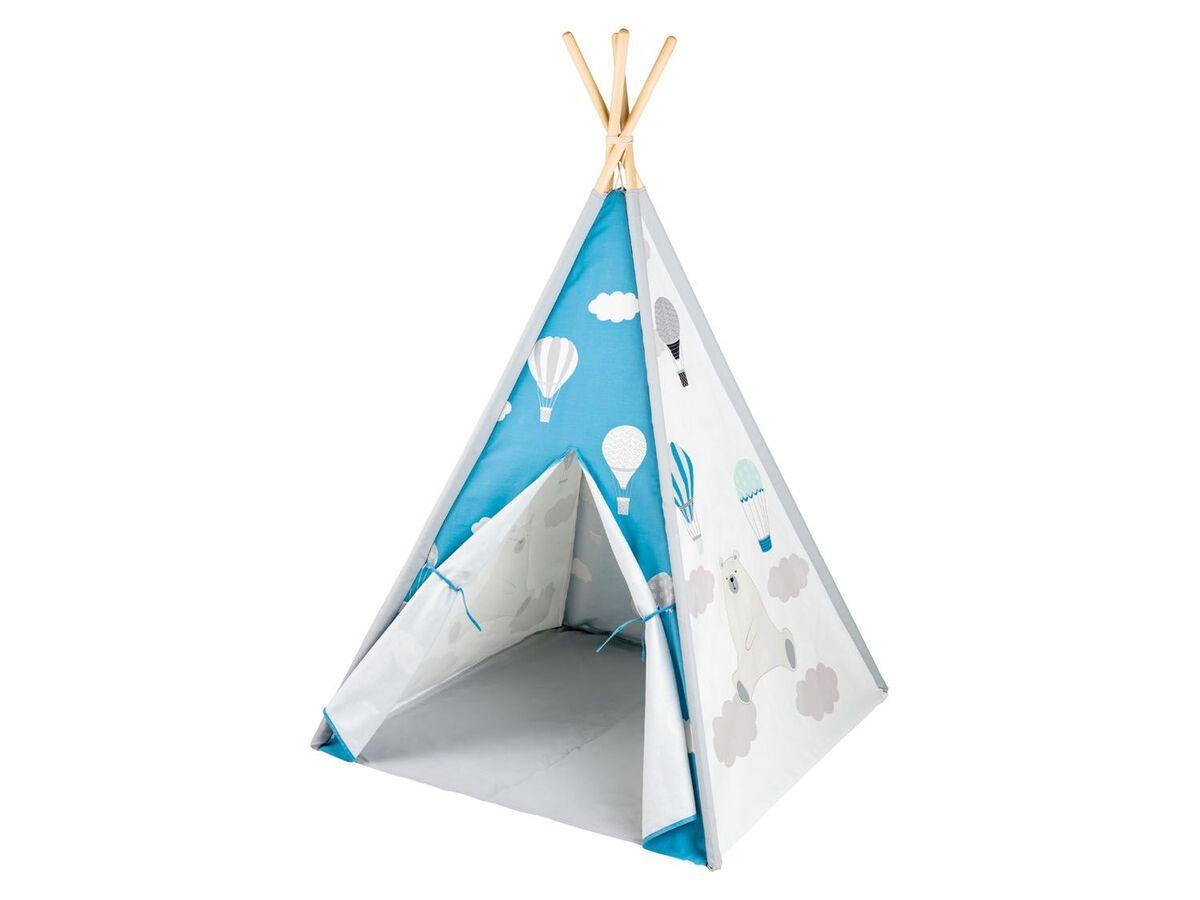 Bild 8 von PLAYTIVE® Kinder Tipi, Tür mit Klettband