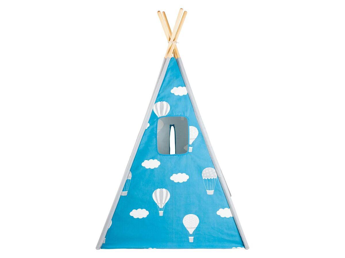 Bild 10 von PLAYTIVE® Kinder Tipi, Tür mit Klettband