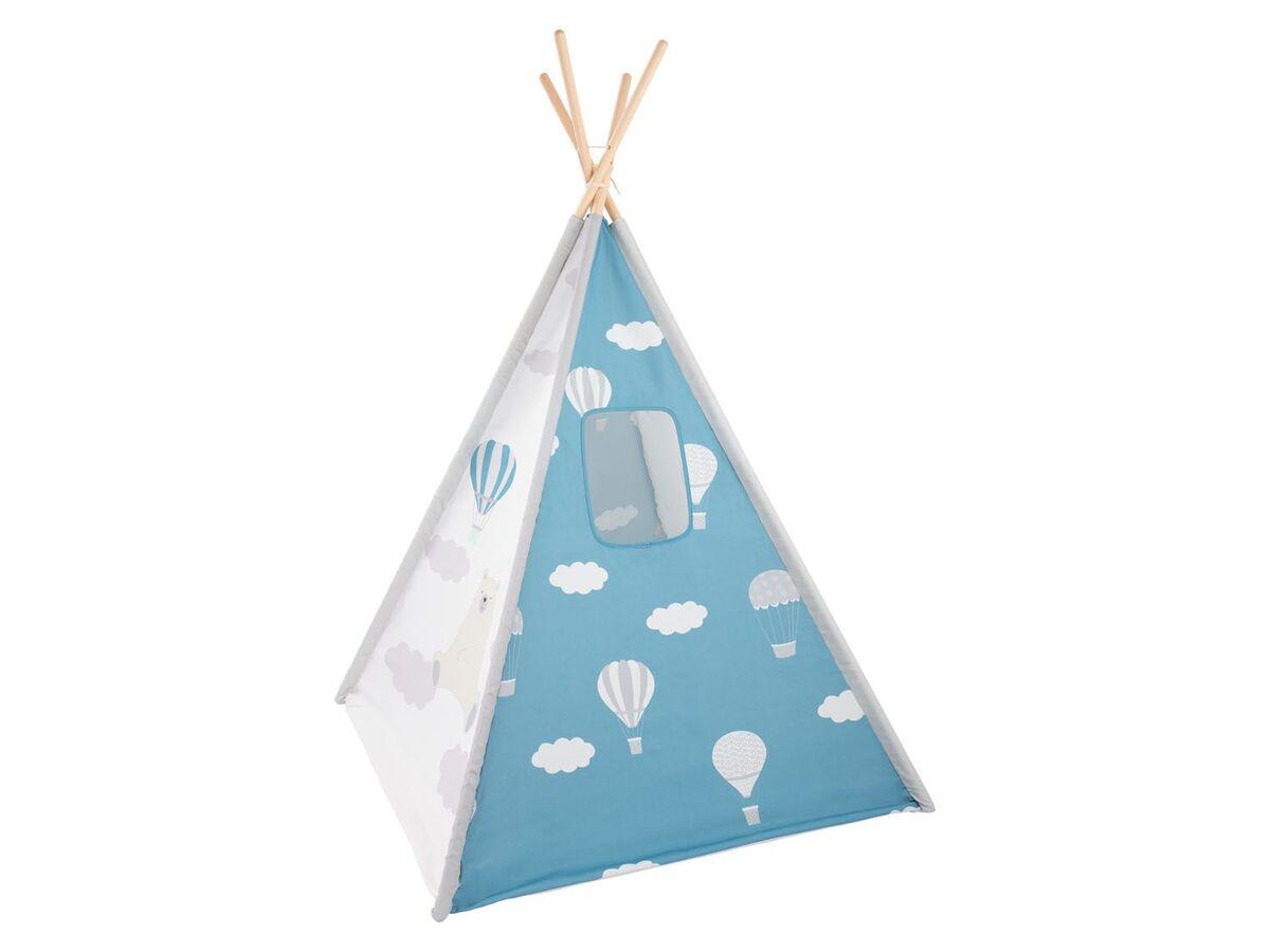 Bild 12 von PLAYTIVE® Kinder Tipi, Tür mit Klettband