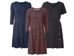 ESMARA® Kleid Damen, mit Gummizug, mit Elasthan