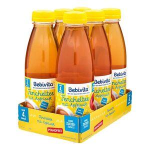 Bebivita Fencheltee mit Apfelsaft 0,5 Liter PET, 6er Pack