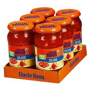 Uncle Ben's® Süß-Sauer Sauce Gemüse 400 g, 6er Pack