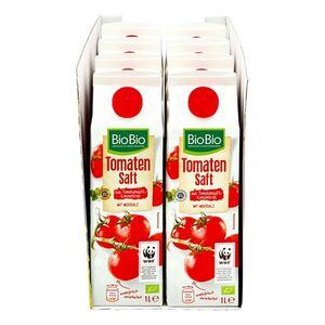 BioBio Tomatensaft 1 Liter, 8er Pack
