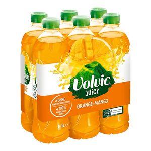 Volvic Juicy Orange-Mango 1 Liter, 6er Pack