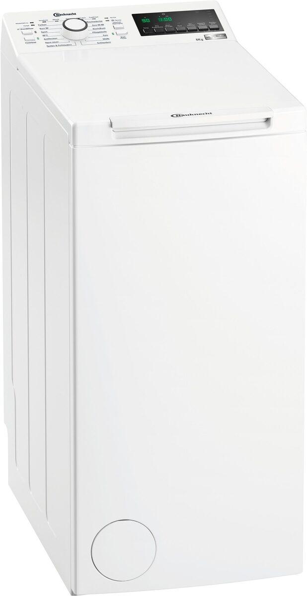 Bild 1 von BAUKNECHT Waschmaschine Toplader WMT ZEN 6 BD N, 6 kg, 1200 U/min