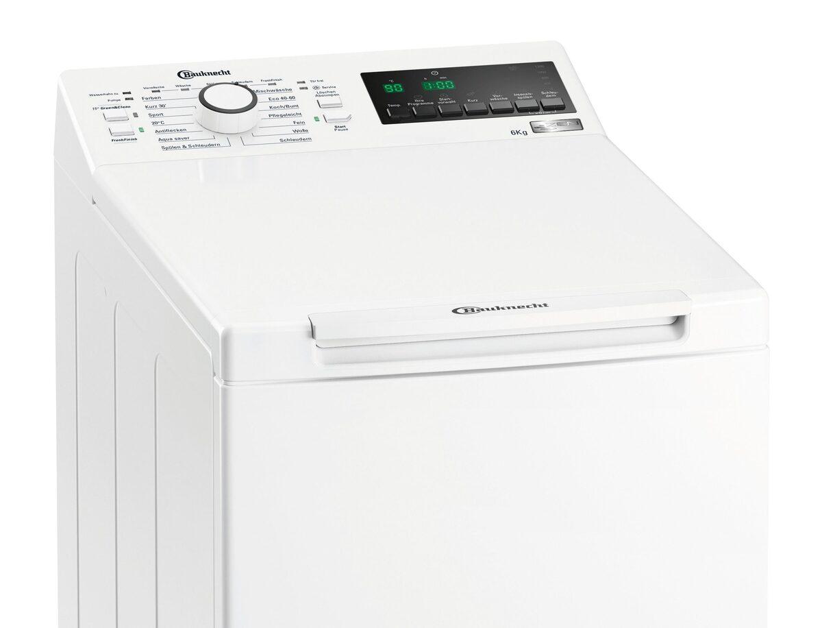Bild 3 von BAUKNECHT Waschmaschine Toplader WMT ZEN 6 BD N, 6 kg, 1200 U/min