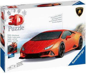Ravensburger 3D-Puzzle »Lamborghini Huracan Evo«, 108 Puzzleteile, mit drehbaren Rädern; Made in Europe