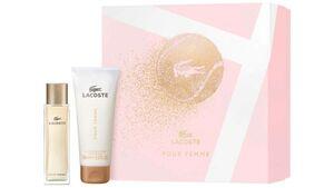 LACOSTE Pour Femme Eau de Parfum + Body Lotion Geschenkset