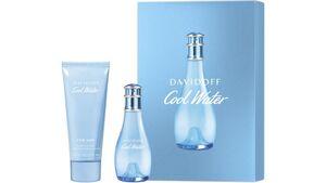 DAVIDOFF Cool Water Woman Eau de Toilette + Bodylotion Geschenkset