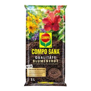 Compo              SANA® Qualitäts-Blumenerde 5 L