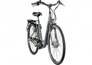 Zündapp E-Bike City 28 Zoll 3-Gang Z510, grau/grün