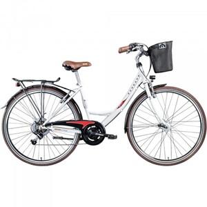 Zündapp Cityrad 28 Zoll 6-Gang Z700, weiß/rot