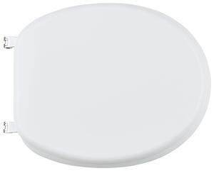 WC-Sitz mit Absenkautomatik in Weiß