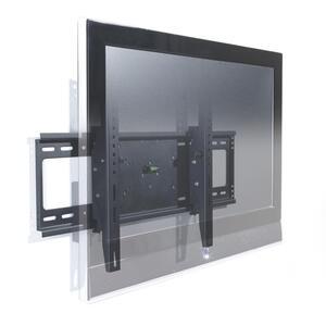 TV-Wandhalter in Schwarz aus Metall