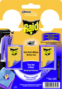 Raid Motten-Gel Lavendel 2ST