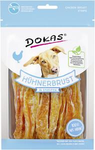 Dokas Hühnerbrust in Streifen 70G