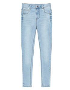 Mädchen High Waist Skinny Fit Jeans