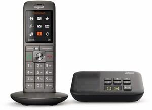 CL660A mit Box 200A Schnurlostelefon mit Anrufbeantworter anthrazit