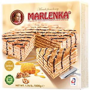 """Honigtorte """"Marlenka"""" nach einer altarmenischen Rezeptur tie..."""
