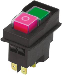 Null Spannungsschalter + ausgeführter Spule 250V/ 50HZ/ 16(10)A/IP54