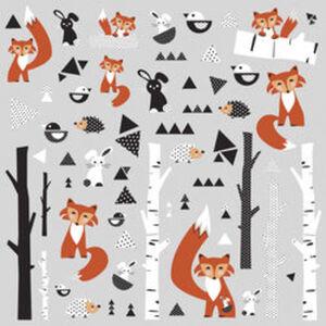 Wandaufkleber Fuchs