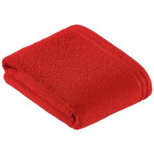 Vossen Badetuch 100/150 cm , 8807/2321 Calypso Feeling , Dunkelrot , Textil , 100x150 cm , Frottee , saugfähig , 003355046231