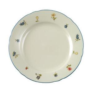 Seltmann Weiden Porzellan dessertteller rund , 30308 , Creme , Keramik , Blume , glänzend , 0031230310