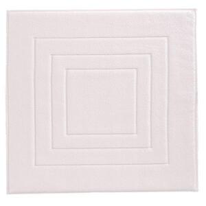 Vossen BADEMATTE Weiß 60/60 cm , 8111/1200 Vossen Feeling , Textil , Uni , 60x60 cm , Frottee , für Fußbodenheizung geeignet , 003355046501