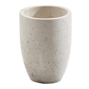 Aquanova Zahnputzbecher , Luxtum-14 , Creme , Stein , 10 cm , 008525002706